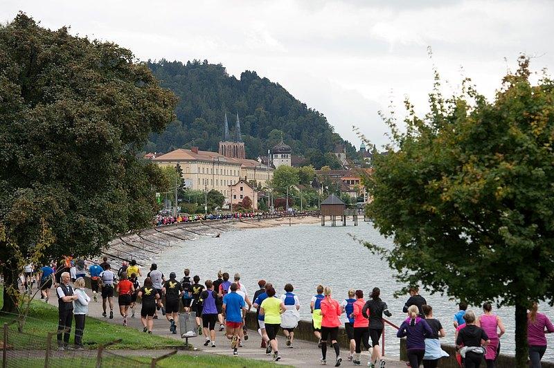 11. Sparkasse 3-Länder-Marathon am Bodensee