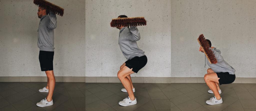 Besen-Workout