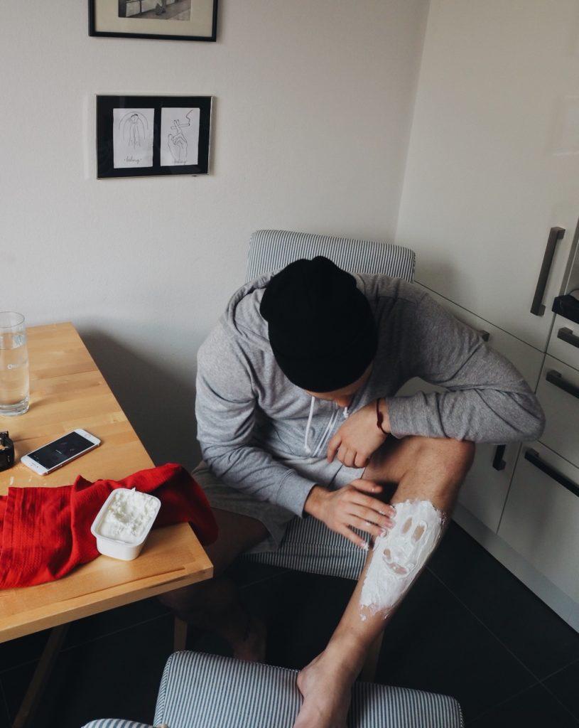 Schmerztabletten vor dem Wettkampf